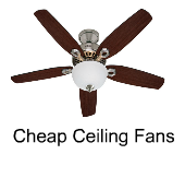 Cheap Ceiling Fans